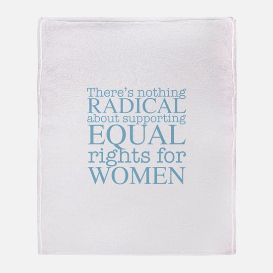 Radical Women Throw Blanket