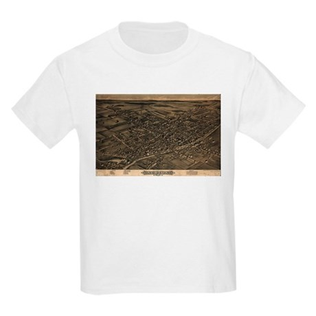 Map of Albion, N.Y., 1880 Kids Light T-Shirt