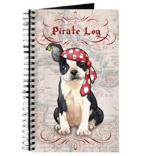 Boston Terrier Pirate Journal