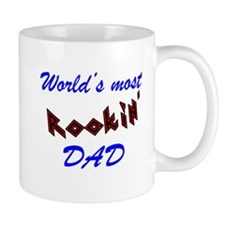 Worlds most Rockin Dad Funny Fathers Day Mugs