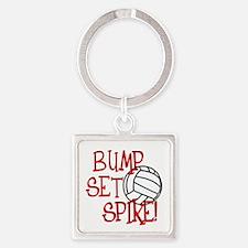 Bump, Set, Spike Keychains