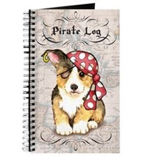 Welsh Corgi Pirate Journal