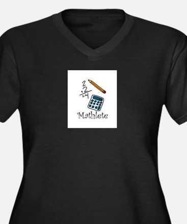 Mathlete Plus Size T-Shirt