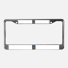 Driftwood License Plate Frame