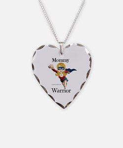 Mommy Warrior Necklace
