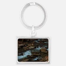 Finger Lakes waterfall Landscape Keychain