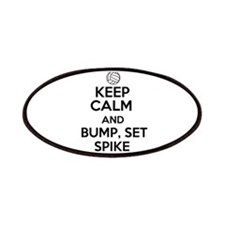 Keep Calm and Bump, Set, Spike Patches