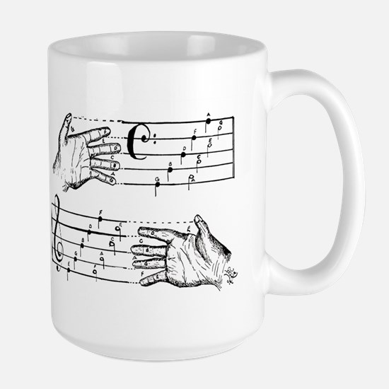 BASS & TREBLE Large Mug