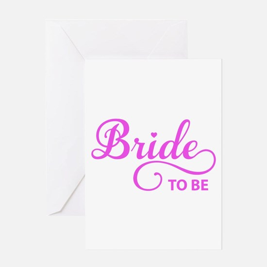 Bride to be Greeting Cards