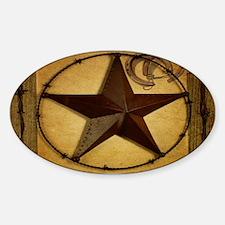 barn wood texas star western fashion Decal