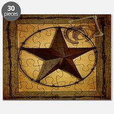 barn wood texas star western fashion Puzzle
