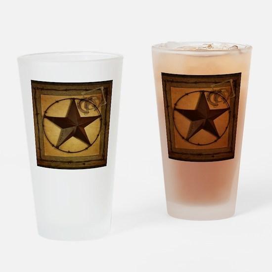 barn wood texas star western fashion Drinking Glas