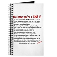 You're A CNA if... Journal