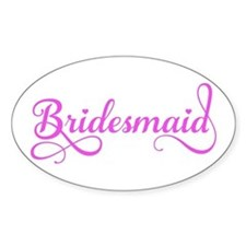 Bridesmaid Decal