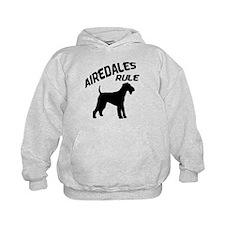 Airedales Rule Hoodie