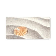 Caribbean Pearl Aluminum License Plate