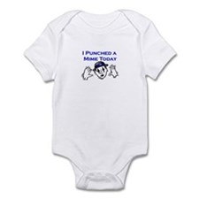 I Punched A Mime Today Infant Bodysuit