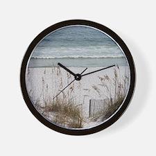 beach-184419 Wall Clock