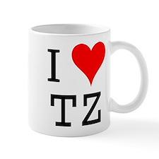I Love TZ Mug