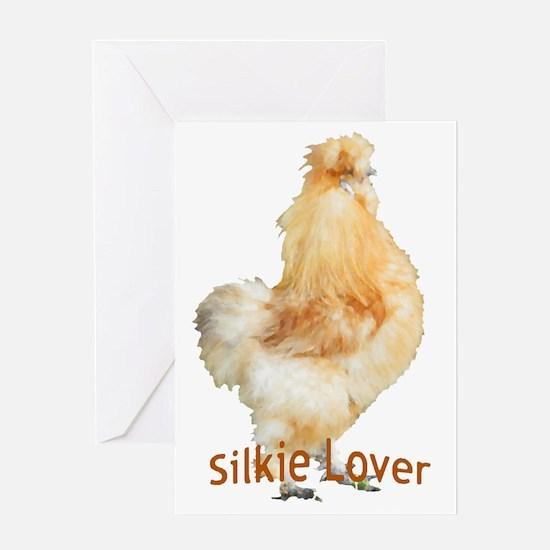 Silkie Lover Greeting Card