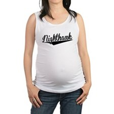 Nighthawk, Retro, Maternity Tank Top