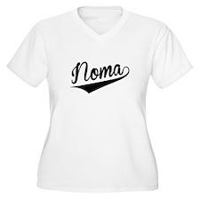 Noma, Retro, Plus Size T-Shirt