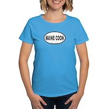 Maine Coon Oval Tee