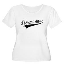 Normanna, Retro, Plus Size T-Shirt