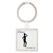 Tap Dance - it's what I do Square Keychain