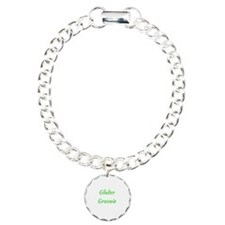 Glader Greenie Maze Runn Charm Bracelet, One Charm
