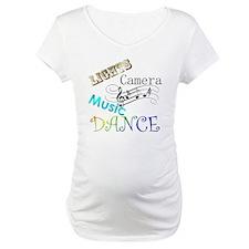 Lights Camera Music Dance Shirt