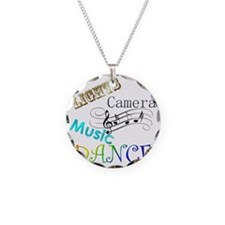 Lights Camera Music Dance Necklace