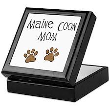 Maine Coon Mom Keepsake Box
