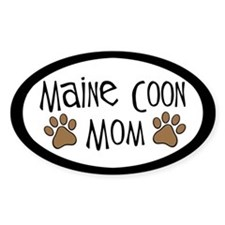 Maine Coon Mom Decal