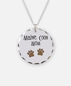 Maine Coon Mom Necklace