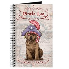 Chocolate Lab Pirate Journal