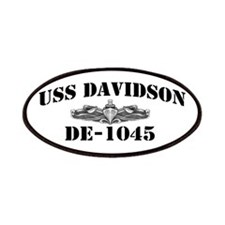 USS DAVIDSON Patches