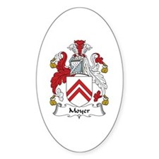 Moyer Oval Decal