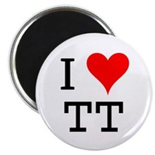 "I Love TT 2.25"" Magnet (100 pack)"