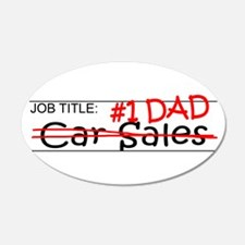 Job Dad Car Sales Wall Decal