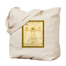 Vitruvian Man, Leonardo  Tote Bag