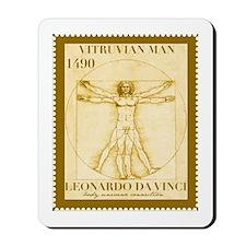 Vitruvian Man, Leonardo  Mousepad
