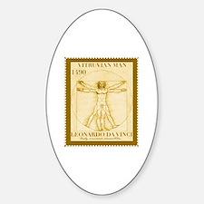 Vitruvian Man, Leonardo  Decal