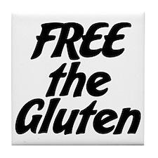 FREE the Gluten Tile Coaster