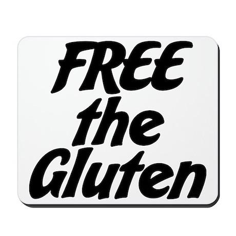 FREE the Gluten Mousepad