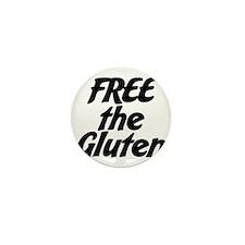 FREE the Gluten Mini Button