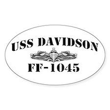 USS DAVIDSON Decal