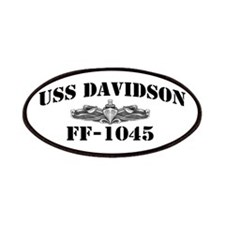 USS DAVIDSON Patches