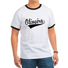 Oliveira, Retro, T-Shirt