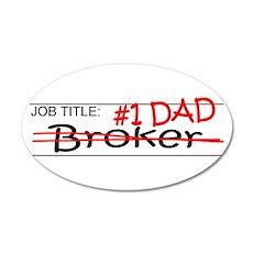 Job Dad Broker Wall Decal